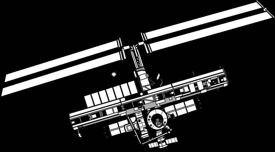 Por Satélite Espacio Nasa Células · Gráficos vectoriales gratis en ...