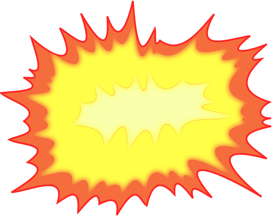 burst explosion fire free vector graphic on pixabay rh pixabay com vector explosion animation vector explosion sign