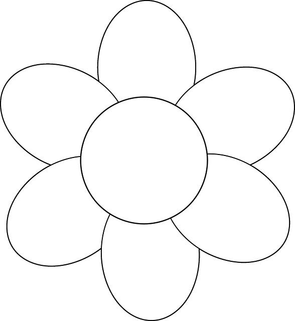 image vectorielle gratuite fleur simple contour image gratuite sur pixabay 148293. Black Bedroom Furniture Sets. Home Design Ideas