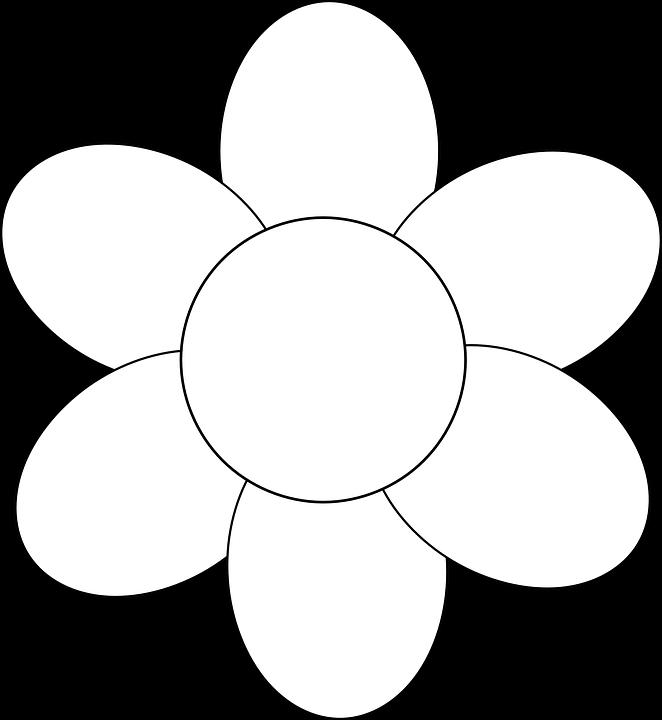 Bunga Sederhana Garis Gambar Vektor Gratis Di Pixabay