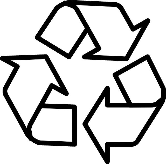 imagem vetorial gratis  reciclagem  s u00edmbolo  setas  ciclo