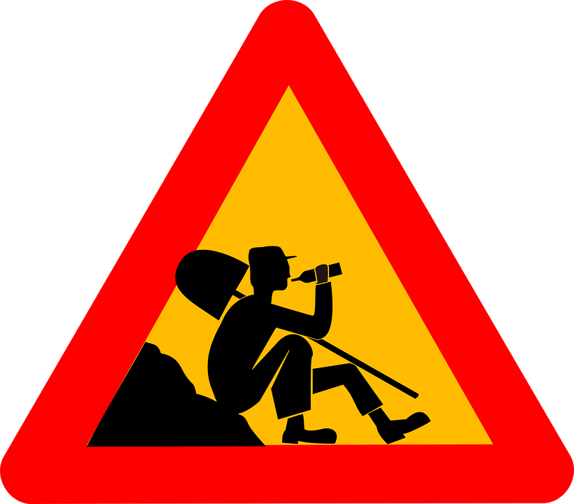 Men At Work Rottura Bere - Grafica vettoriale gratuita su Pixabay