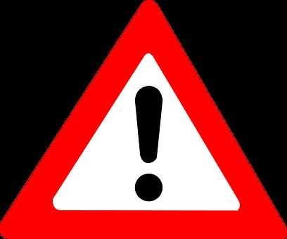 Bildergebnis f�¼r ausrufezeichen warnung