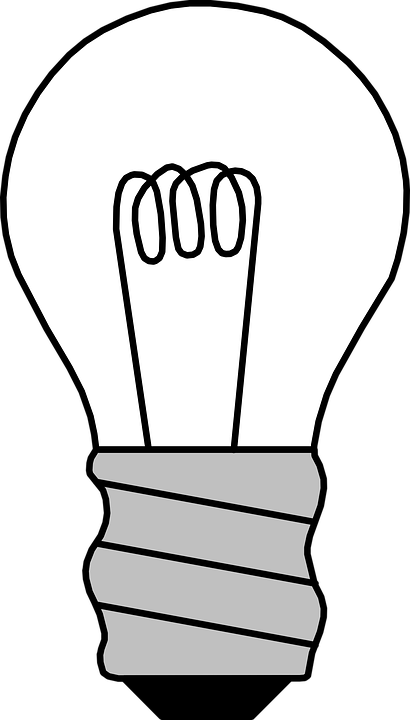 Filament Light Bulb Off Gratis Vectorafbeelding Op Pixabay
