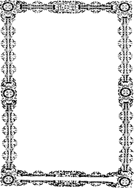 free vector graphic  frame  ornate  border
