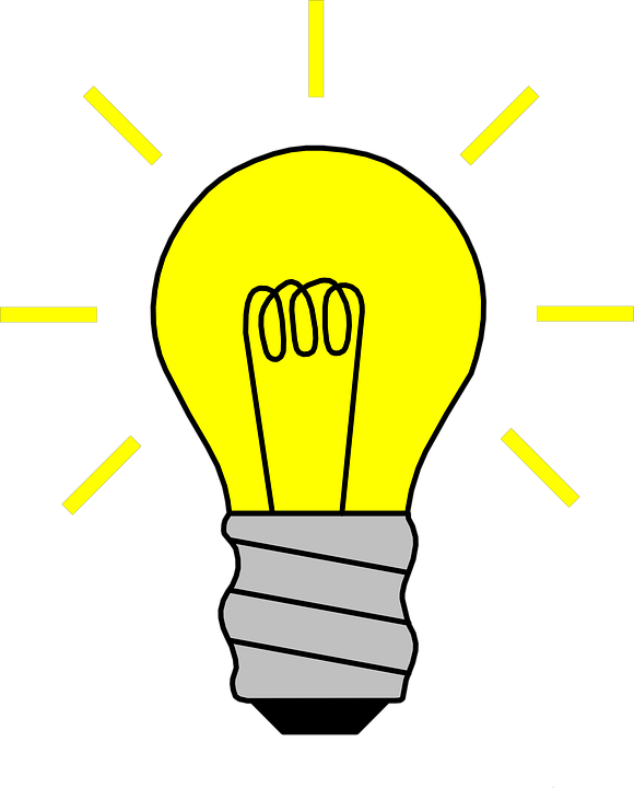 Free vector graphic: Light, Light Bulb, On, Bulb - Free ...