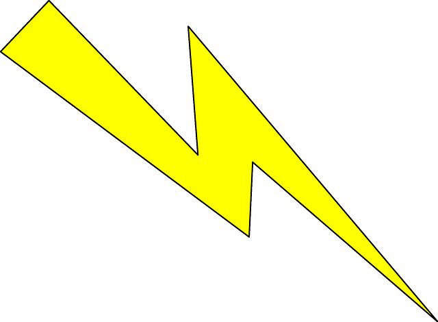 Vector gratis rayo energ a flash imagen gratis en - Eclaire dessin ...