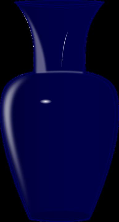 image vectorielle gratuite vase c ramique bleu verre image gratuite sur pixabay 148594. Black Bedroom Furniture Sets. Home Design Ideas