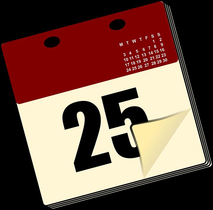 Free Vector Graphic Calendar Date Desk Office Free