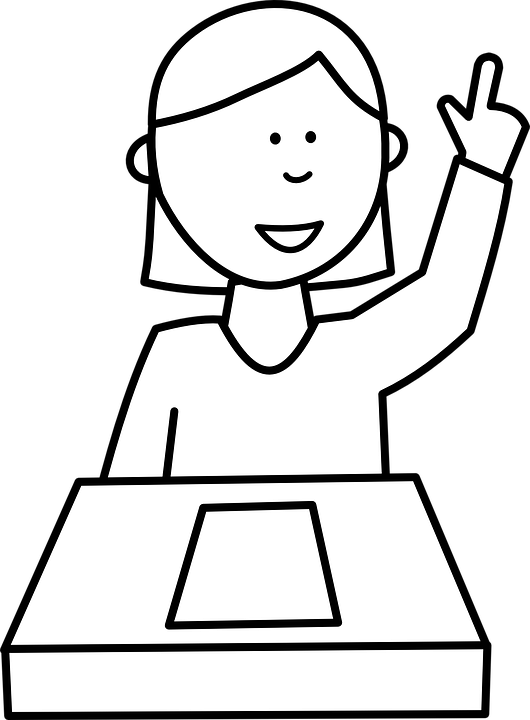 Free vector graphic Student Girl People School Desk Free