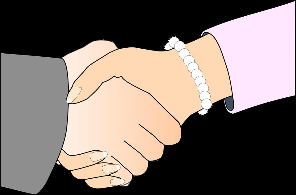 Woman, Partners, Handshake, Shaking Hands, Agreement