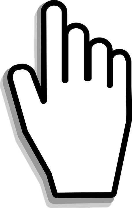 cursor hand mouse free vector graphic on pixabay rh pixabay com mouse hand cursor vector computer hand cursor vector