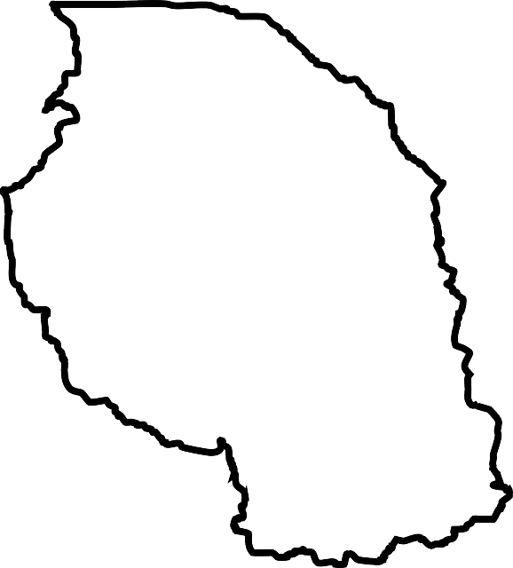 Tanzania Africa Map 183 Free Vector Graphic On Pixabay