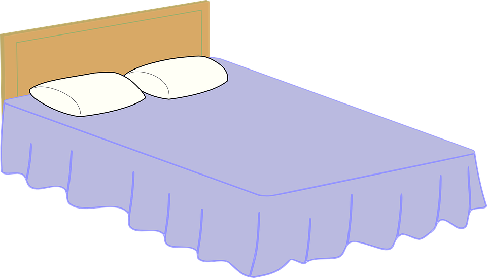 Bed Bedroom Furniture Free vector graphic on Pixabay