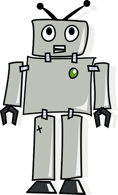 Robot Android Artificial · Free vector graphic on Pixabay  Robot Android A...