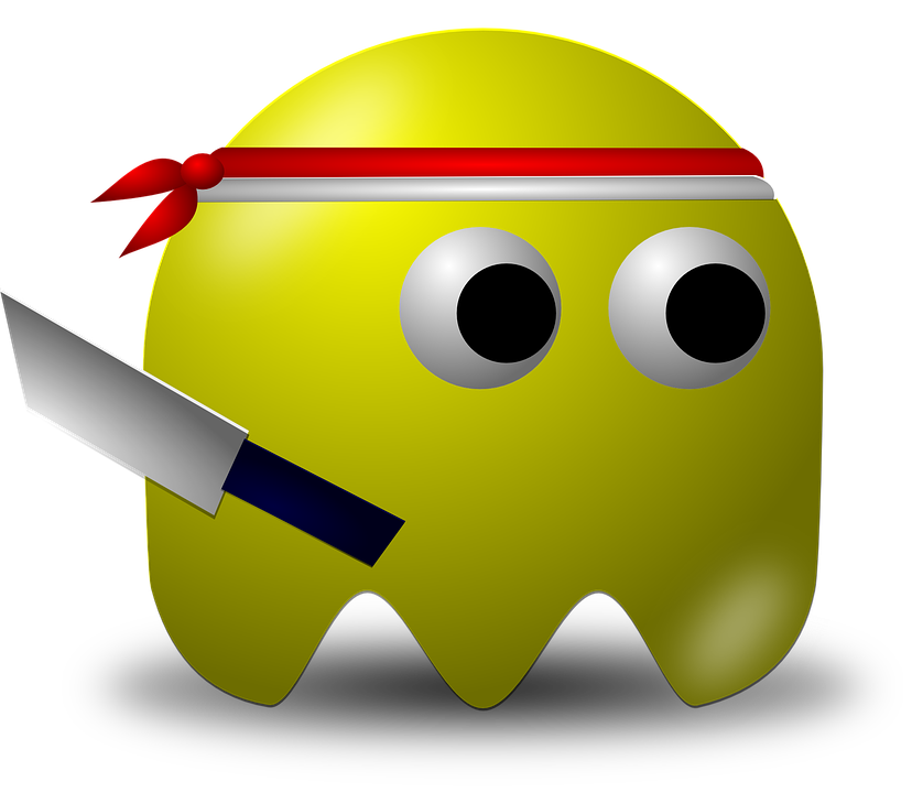 Free Vector Graphic Indonesian Warrior Pacman Free