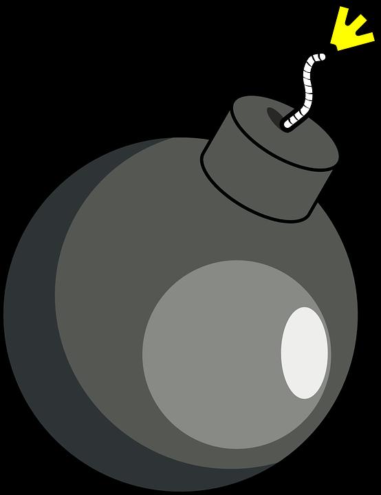 Bomba Granada Detonacao Grafico Vetorial Gratis No Pixabay