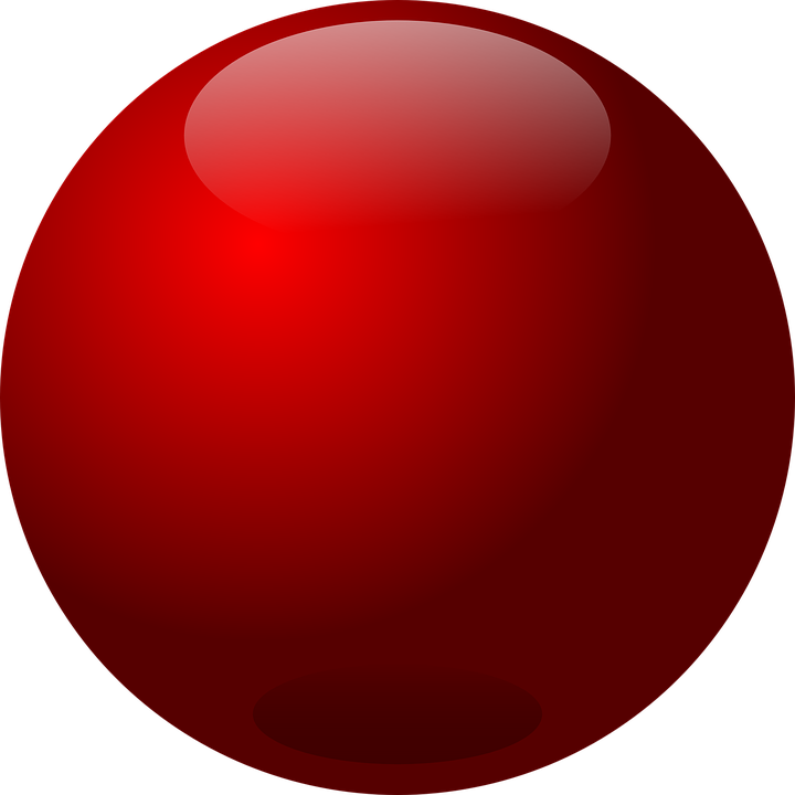 Free Vector Graphic Ball Glass Red Free Image On Pixabay 149289