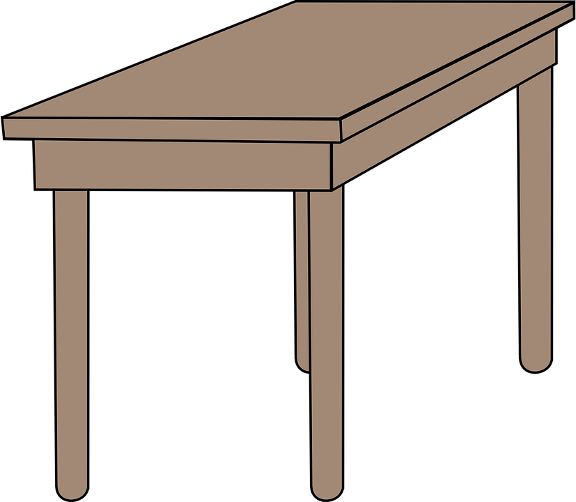 free vector graphic desk furniture school table free image on pixabay 149332. Black Bedroom Furniture Sets. Home Design Ideas