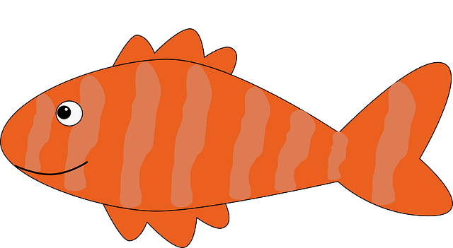 Free vector graphic salmon fish sea life red free image on pixabay 149372 - Poisson dessin couleur ...