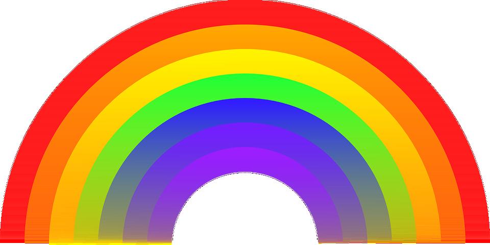 Farben im regenbogen
