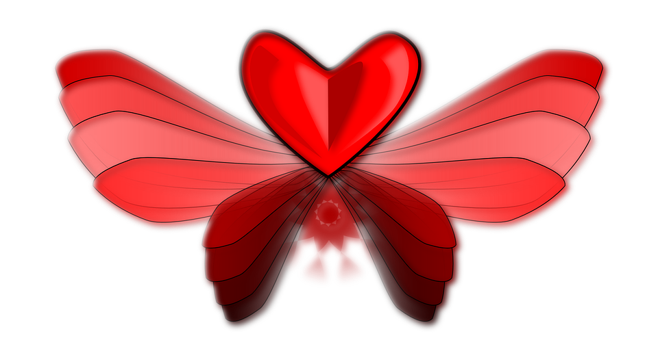 Heart Love Wing · Free Vector Graphic On Pixabay
