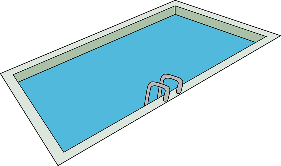 Swimming Pool Ladder Summer
