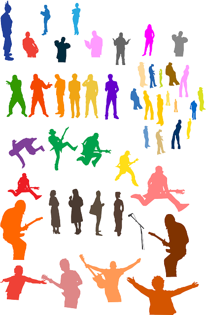 Free vector graphic: Crowd, People, Silhouettes, Concert ...