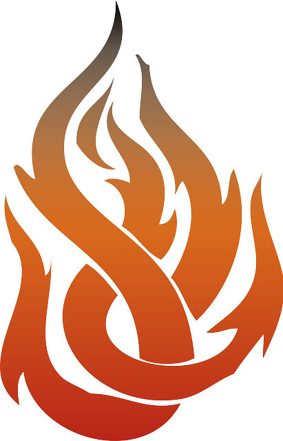 Free vector graphic: Flame, Fire, Burn, Hot, Red - Free ... | 411 x 640 png 88kB