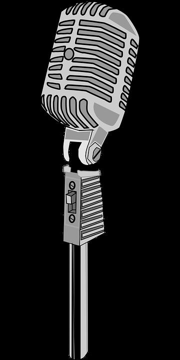 Karaoke Microphone Mic - Free vector graphic on Pixabay