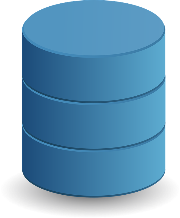 Free Vector Graphic Database Data Storage Cylinder