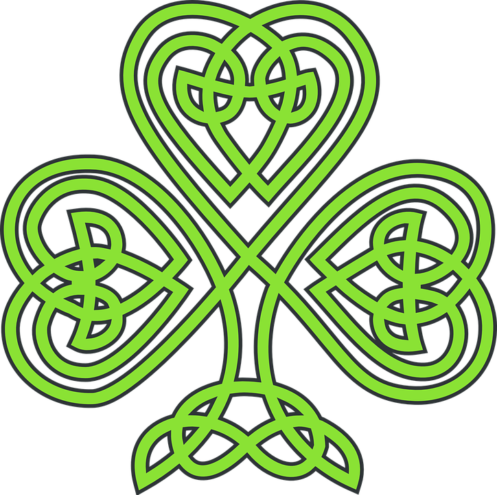 Shamrock Celtic Plant · Free vector graphic on Pixabay