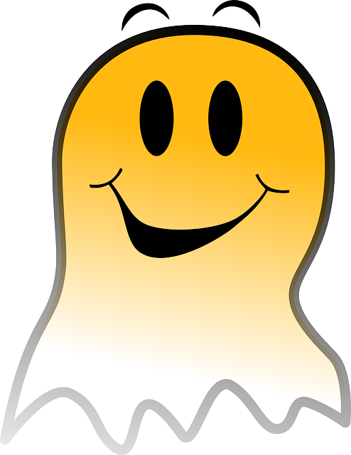 Free Vector Graphic Ghost Smiley Yellow Happy Free