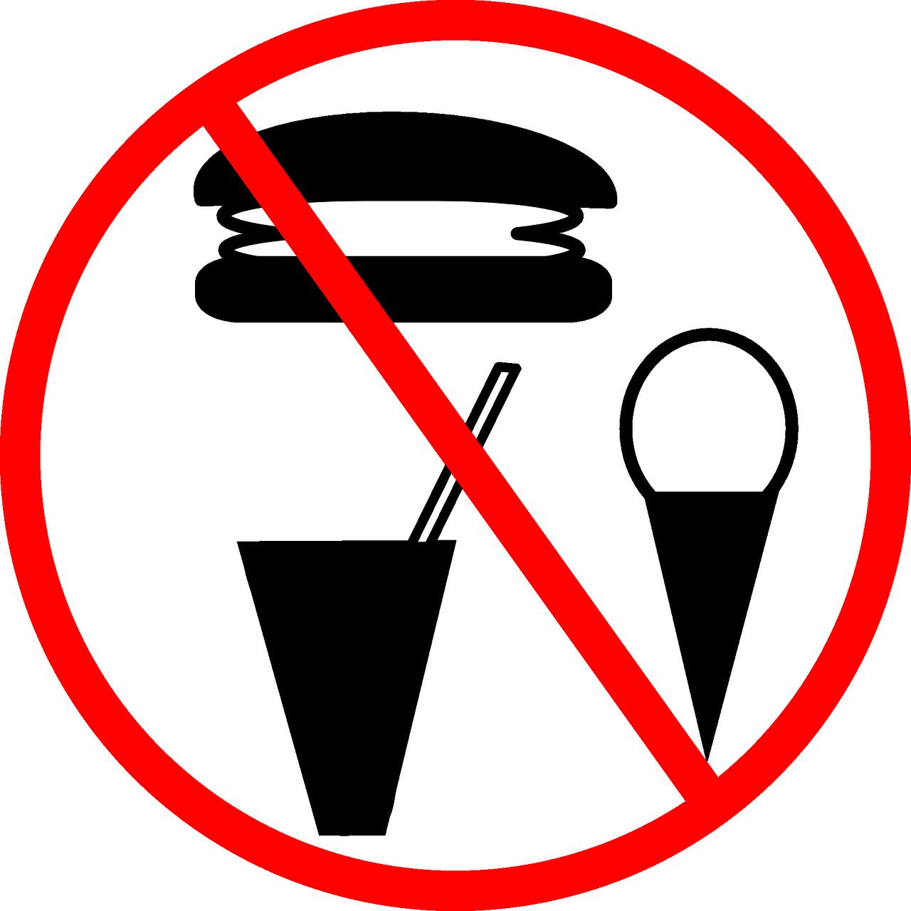 Dilarang Minuman Makanan Gambar Vektor Gratis Di Pixabay