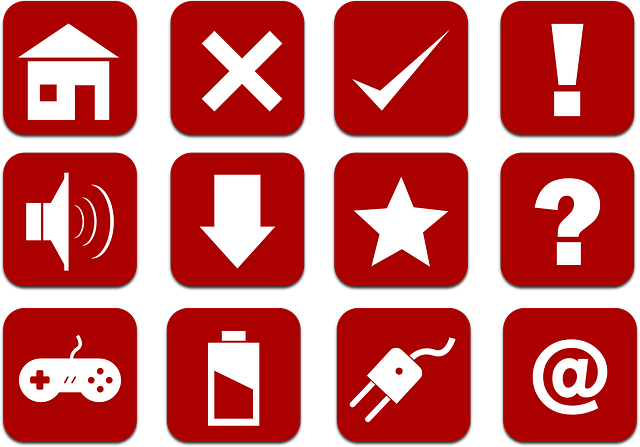 Free vector graphic: Icons, Set, Red, Home, Cancel