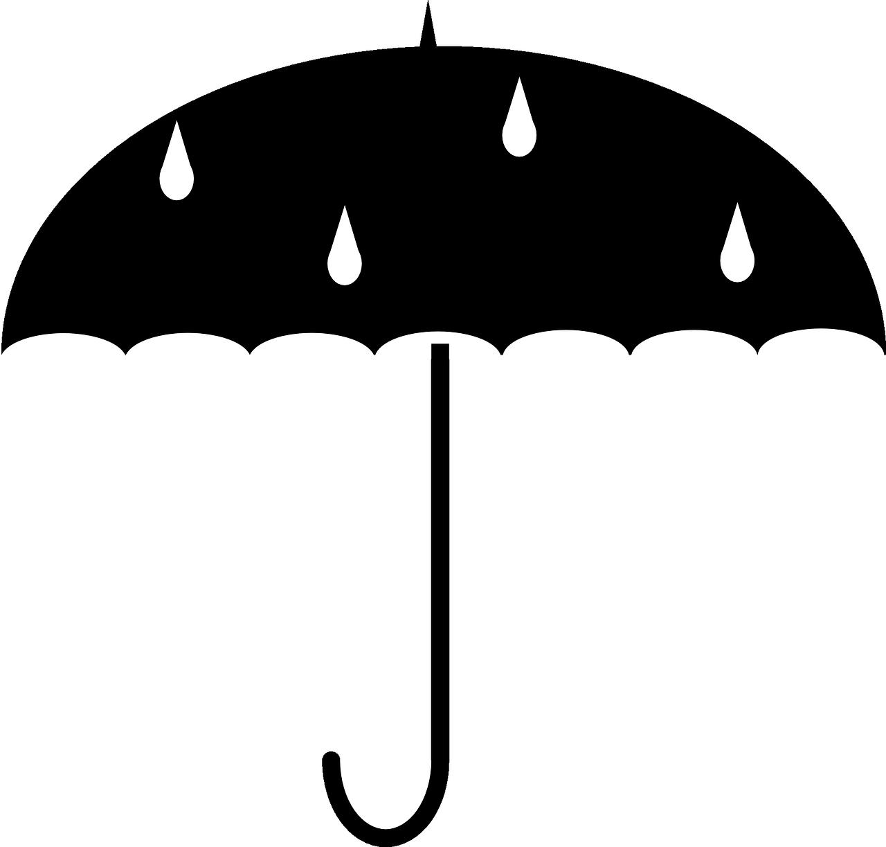 schützen regenschirm wasser · kostenlose vektorgrafik auf