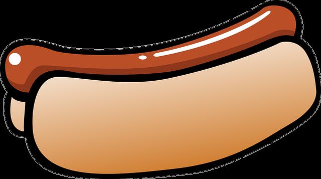 Hot-Dog Hot Dog Food  Free Vector Graphic On Pixabay-8063