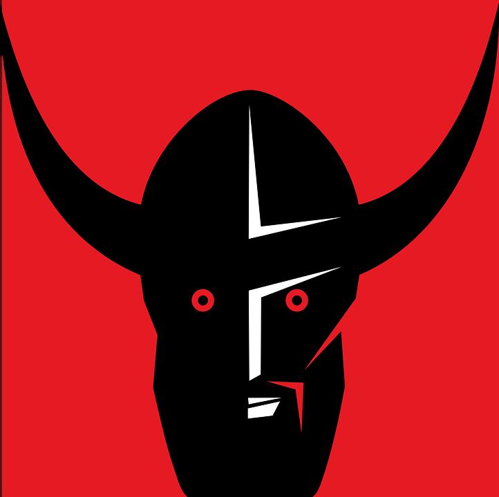 Viking Topi Baja Tanduk Gambar Vektor Gratis Di Pixabay