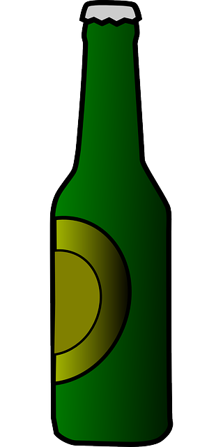 bottle beer drink 183 free vector graphic on pixabay