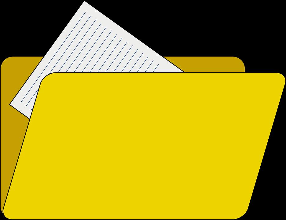 free clipart document icon - photo #26