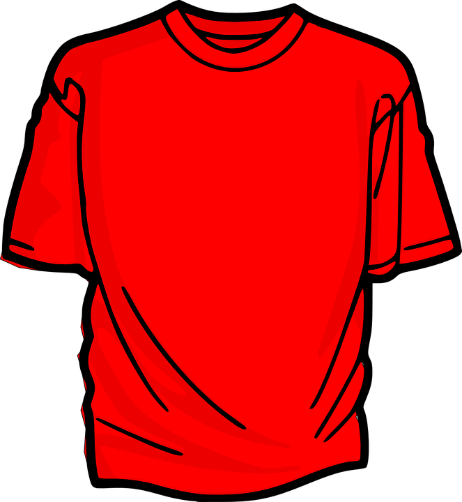 9be6d2ad0 Shirt T-Shirt Red - Free vector graphic on Pixabay