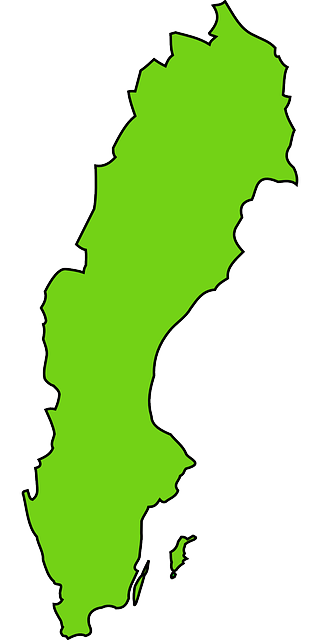 Free Vector Graphic Sweden Country Map Free Image On Pixabay - Sweden map free