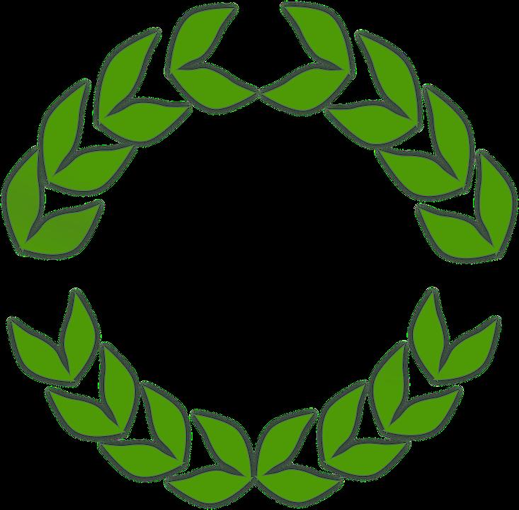 Vavřínový Věnec Vavříny Listy · Vektorová grafika zdarma na Pixabay bbd16b0639