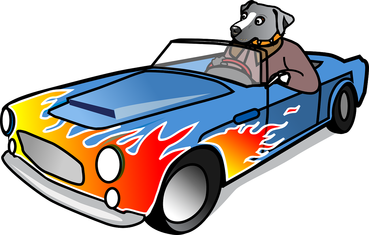 Sport cars clipart