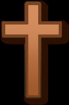 Église, Croix, Bois, Christianisme