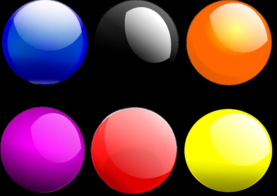 Balls Round Gloss 183 Free Vector Graphic On Pixabay