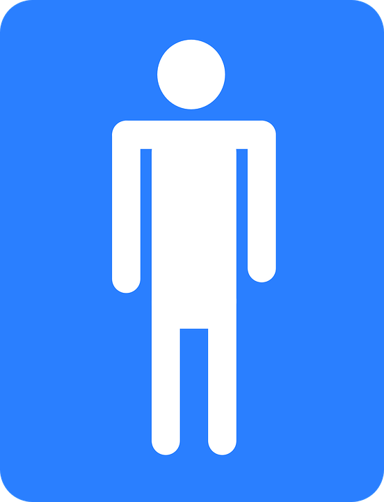 Bathroom Sign Male Vector free vector graphic: bathroom, sign, male, man, boys - free image