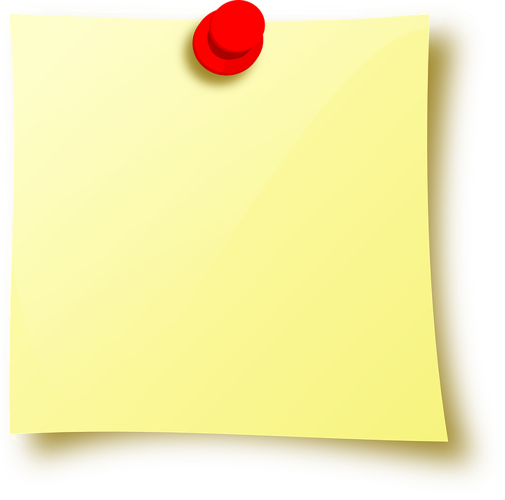 Image vectorielle gratuite post it pense b te note for Bureau transparent