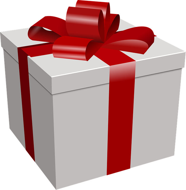 Free vector graphic present box dole favor gift free image on
