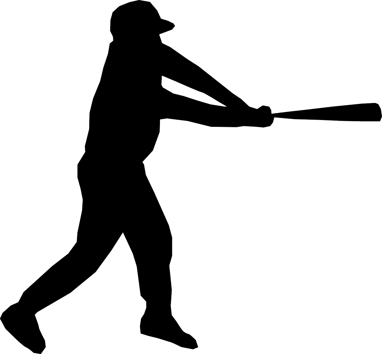 Baseball players vector art free vector download 210833